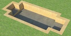 бетонирование при создании ж/б плиты
