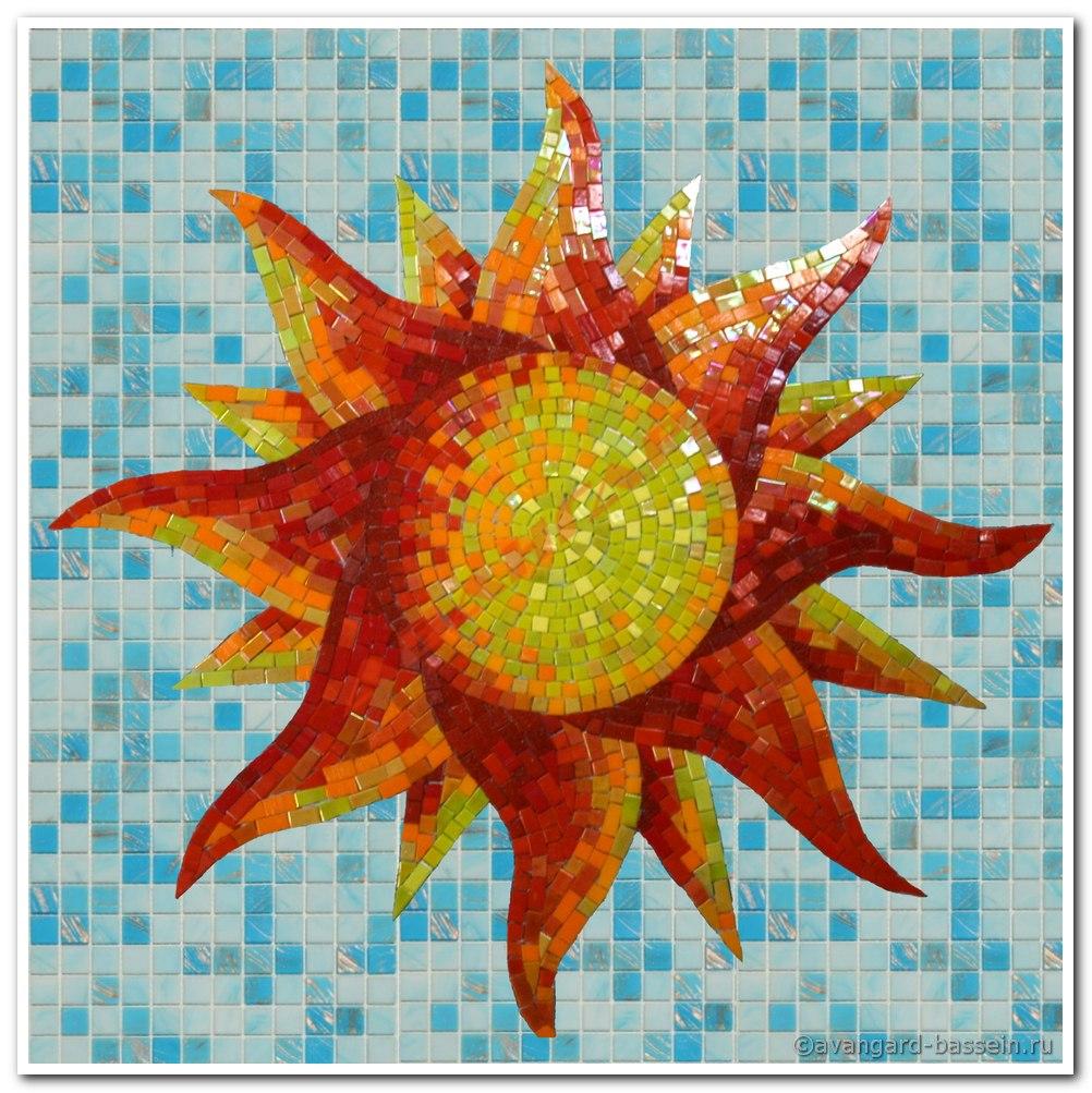 Панно своими руками солнце 87