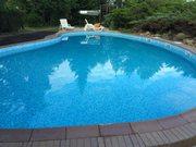 Реконструкция открытого бассейна скиммерного типа