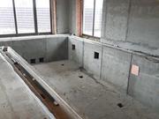Строительство переливного бассейна в доме