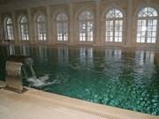 Переливной бассейн в частном доме