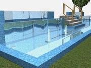 Строительство каскадного фонтана (текущее строительство)